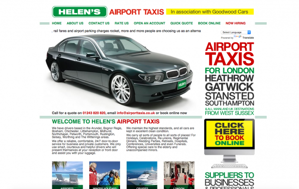 Helens airport taxis