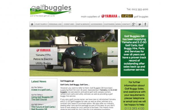 golf buggies Leeds