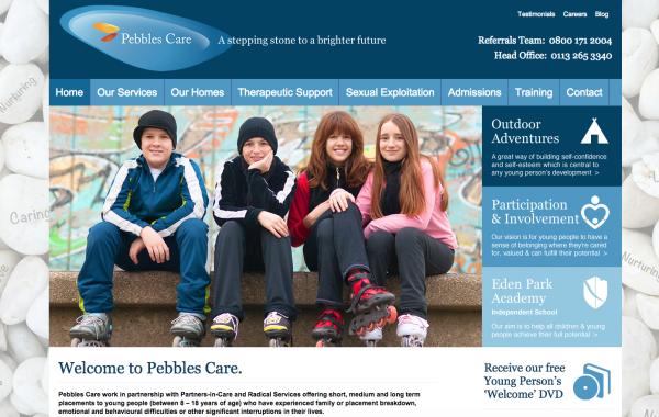 pebbles care