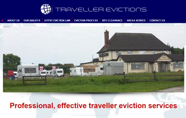 Strikes Traveller Eviction