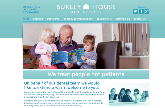 burleyhousedentalcare.com