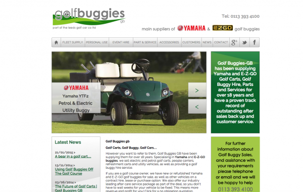 golf buggies Leeds