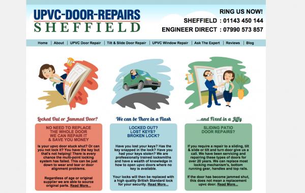 upvc door repairs sheffield