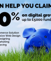 Claim back up to 40% on digital growth costs